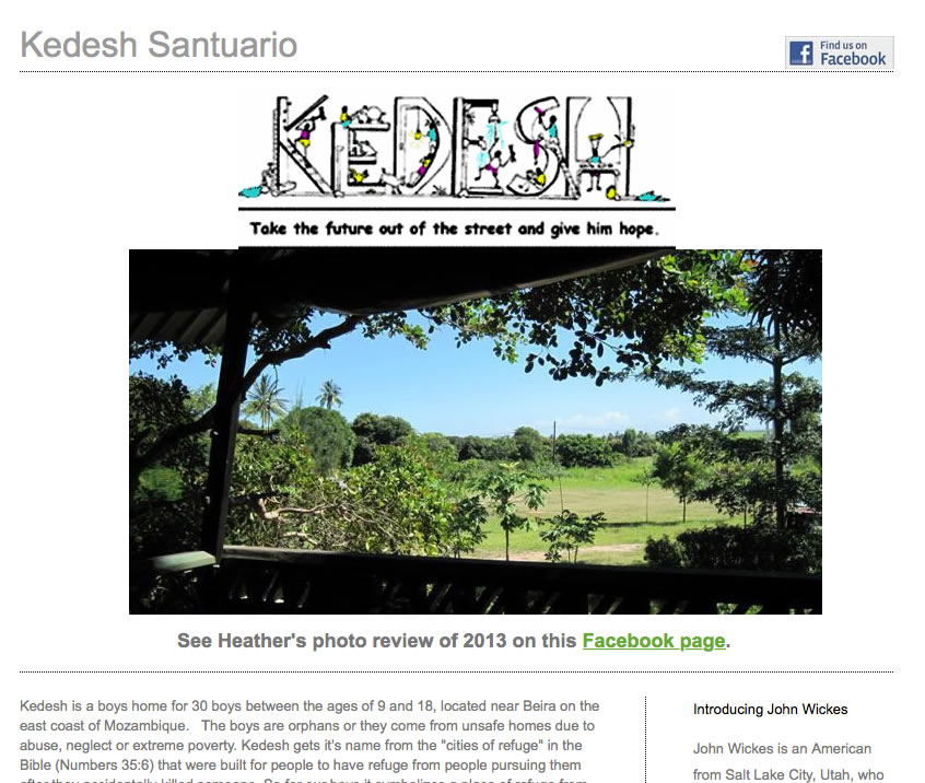 Kedesh Mozambique